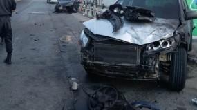 مصرع أربعة مواطنين وإصابة ثلاثة آخرين بحادث سير في الخليل