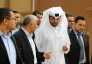 نائب السفير العمادي خالد الحردان يصل إلى قطاع غزة