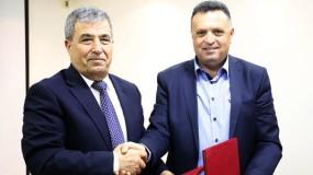 """""""بكدار"""" ونقابة الصحفيين يوقعان اتفاقية لتطوير الصحافة الاقتصادية في فلسطين"""