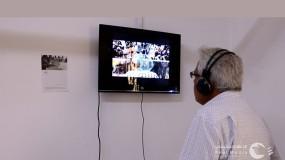 """"""" مواجهة """" رؤية بصرية معاصرة للتشكيلية رفُيدة سحويل بتقنية """"الفيديو آرت"""" كأول معرض فردي فلسطيني"""