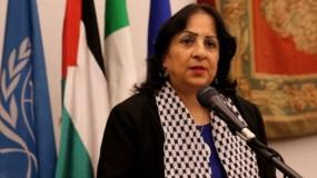 """وزيرة الصحة: إرسال 1500 مسحة خاصة بفحوصات فيروس """"كورونا"""" إلى قطاع غزة"""