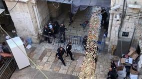"""استشهاد الفتيين """"أبو رومي"""" و """"الشيخ"""" برصاص قوات الاحتلال في البلدة القديمة بالقدس"""
