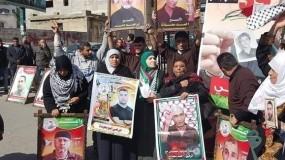 مهجة القدس وواعد ينظمان وقفة دعم وإسناد للأسرى المضربين عن الطعام