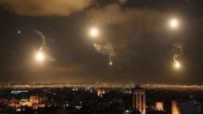 مضادات الدفاع الجوية السورية تتصدى لأهداف معادية