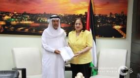 وزيرة الصحة: رجل أعمال فلسطيني يتبرع بإنشاء مركز لغسيل الكلى بخانيونس