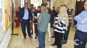 """""""الثقافة"""" تفتتح معرض الفن التشكيلي للفنان محمد الحاج"""