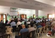 اللجنة الشعبية بالنصيرات تنظم ندوة سياسية حول تجديد تفويض (أونروا)