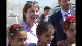 مبعوثة الاتحاد الأوروبي: يجب إيجاد سلام دائم عبر المفاوضات.. والأغوار منطقة مهمة لدولة فلسطين المستقبلية