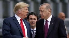 """أردوغان وترامب يبحثان هاتفياً """"المنطقة الآمنة"""" بسوريا"""
