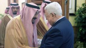 الرئيس عباس يهنئ خادم الحرمين الشريفين بنجاح العملية الجراحية