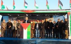 هيئة مسيرات العودة: إستمرار الحصار يدفعنا للإنفجار..وندعو الرئيس التونسي الجديد لزيارة غزة