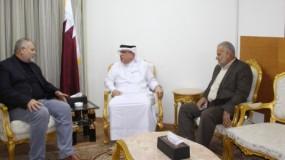 العمادي: دولة قطر تقف على مسافة واحدة من جميع الفصائل الفلسطينية