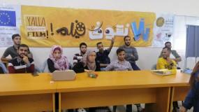 أفلام فلسطينية تجوب محافظات القطاع لتخلق مساحات حرة للتعبير