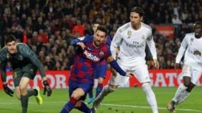"""التعادل السلبي يحسم """"كلاسيكو الأرض"""" بين برشلونة وريال مدريد"""