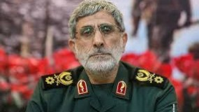 بعد أنباء عن مقتله بغارة إسرائيلية.. قائد فيلق القدس الإيراني يظهر في فيديو جديد