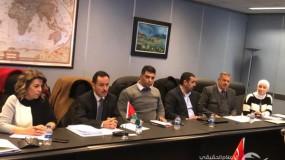 انطلاق أعمال اللجنة الاقتصادية الفلسطينية التركية المشتركة