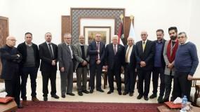 الرئيس يكرم الفائزين بجائزة الدولة التقديرية في الآداب والفنون والعلوم الإنسانية