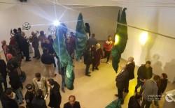 """افتتاح معرض الفنان أيمن الحصري بغزة بعنوان"""" شيء من"""""""