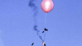 اطلاق دفعة بالونات حارقة من غزة تجاه بلدات الاحتلال الإسرائيلي