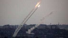 """ثلاثة صواريخ انطلقت من القطاع سقطت في """"غلاف غزة"""""""