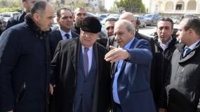 الرئيس عباس يزور مقر جهاز المخابرات العامة