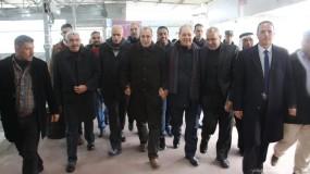بعد زيارة عدة أيام.. صيدم وجبر يغادران القطاع عبر معبر بيت حانون