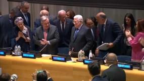 (الميادين): الرئيس عباس يتعرض لضغوط غير مسبوقة بنيويورك قبل ساعات من كلمته