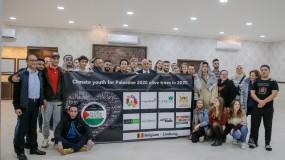 الرجوب يلتقي وفدا شبابيا من بلجيكا متضامنا مع فلسطين