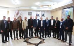 جامعة الأزهر-غزة تستقبل وفداً من وزارة التنمية الاجتماعية