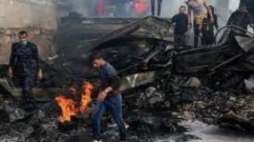 العمادي: صرف المنحة القطرية للدفعة الاولى من متضرري حريق النصيرات الخميس
