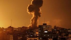 طائرات الاحتلال تستهدف موقع شمال قطاع غزة