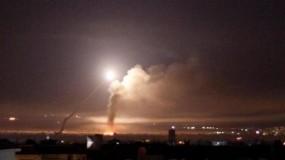 الدفاع الجوي السوري يتصدى لعدوان إسرائيلي بسماء المنطقة الجنوبية