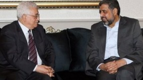 """خلال اتصال هاتفي مع النخالة.. الرئيس عباس يُؤكد استعداده لعلاج """"رمضان شلح"""""""