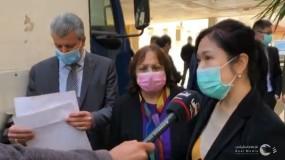 فلسطين.. الصحة تتسلم رزمة من المساعدات الصينية
