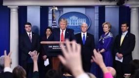 """ترامب يهاجم """"بوش"""": غزو العراق أسوأ قرار في تاريخ الولايات المتحدة..و سنُعلن عن المنشأ الحقيقي لفيروس (كورونا)"""