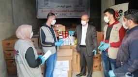 """غزة: """"عطاء فلسطين"""" تستلم 2000 طرد غذائي من """"أيبك"""" لتوزيعها على العائلات المتضررة في قطاع غزة"""