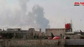 سوريا: انفجارات في مستودع أسلحة بـ(حمص)