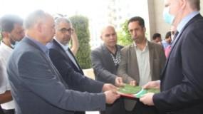 اللجنة الوطنية العليا لإحياء ذكرى النكبة تسلم مذكرة لمكتب الأمم المتحدة