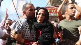 حركة فتح في مخيم الشاطئ غرب غزة تستقبل إبنها الأسير المحرر عاهد نبهان