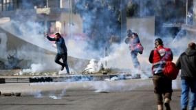 إصابات خلال مواجهات مع الاحتلال ومستوطنون يواصلزن اعتداءاتهم
