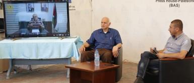 """ندوة بعنوان """"دور المؤسسة الرسمية في دعم الإبداع الفلسطيني"""""""
