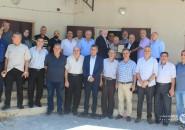 مفوضية المكاتب الحركية اقليم غرب غزة تكرم ادارة جمعية بنك الدم المركزي
