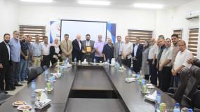مفوضية المكاتب الحركية بغرب غزة تهنئ نقابة المحامين الفلسطينيين بمناسبة يوم المحامي