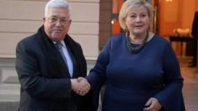 اتصال هاتفي بين الرئيس عباس ورئيسة وزراء النرويج