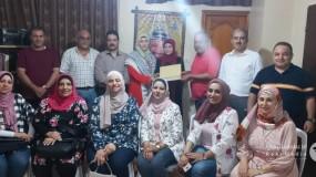 المكتب الحركي للمهن الطبية بإقليم غرب غزة يواصل زياراته لتهنئة الناجحين بالثانوية العامة