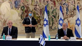 نتنياهو وغانتس يُهددان حزب الله ولبنان برد قوي
