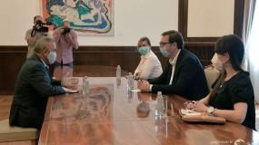 الرئيس الصربي يؤكد ثبات موقف بلاده الداعم للقيادة الفلسطينية