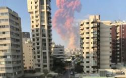 مئات الإصابات وعشرات القتلى في انفجار هز مرفأ بيروت ...وزير خارجية الاحتلال الإسرائيلي: لا علاقة لنا