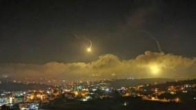 طائرات الاحتلال الإسرائيلي تقصف قطاع غزة ومواقع لحزب الله في جنوب لبنان