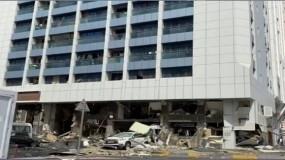 شرطة أبوظبي: انفجار المطعم ناتج عن أنابيب الغاز